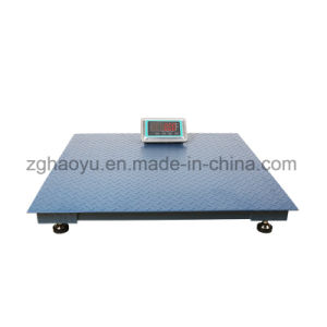 Electronic Small Floor Weighing Price Scale Machine 1ton pictures & photos