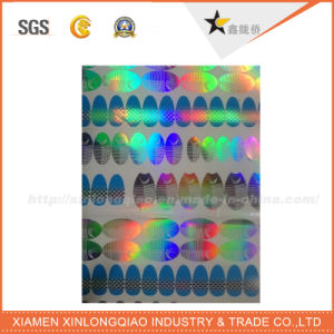 Label Printing Company Laser Anti-Counterfeiting Label Security Hologram Sticker pictures & photos