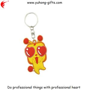 Free Design Keychain Custom Fashion Style PVC Rubber Keychain (YH-KC161) pictures & photos