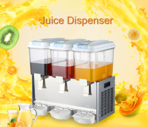 Triple Tank Juice Dispenser Machine pictures & photos