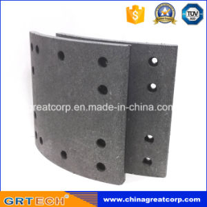 Drilled Heavy Duty Truck Brake Lining 4515