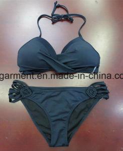 White Solid Color Beachwear Bikini for Women Man/Girl, Swimming Wear pictures & photos