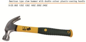 High Quality Claw Hammer with Plastic Handle pictures & photos