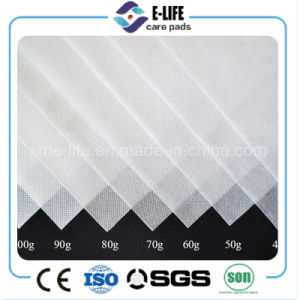 Hydrophilic Nonwoven Fabric for Sanitary Napkin Baby Diaper Adult Diaper pictures & photos