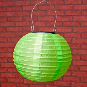Four Size Optional Chinese Solar Powered Lantern Fairy Fabric Lantern for Outdoor Decoration pictures & photos
