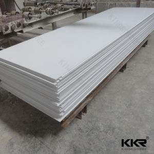 Artificial Stone Glacier White Acrylic Solid Surface pictures & photos