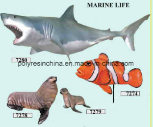 Fiber Glass Marine Life of Shark and Fish Crafts pictures & photos