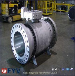 ASTM Forged Steel 3PCS Reduced Bore Floating Ball Valves pictures & photos