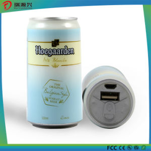 New creative soft drinking 2600mAh power bank