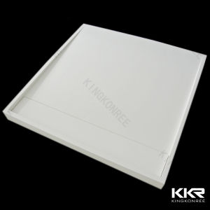 Italian Designs White Stone Solid Surface Shower Tray 0710 pictures & photos