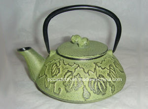 0.45L Cast Iron Teapot From China pictures & photos