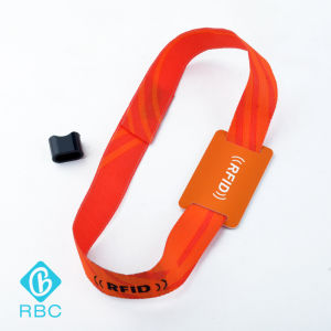 Colourful Ribbon NXP MIFARE Ultralight Bracelet Nylon Strap/Woven Fabric pictures & photos