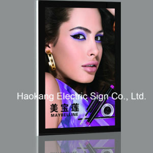 Frameless Slim Acrylic LED Magnetic Light Box with Crystal Frame Sign for Picture Advertising pictures & photos