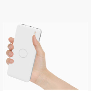 High Capacity 10000mAh White Power Bank for iPhone 7 pictures & photos