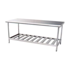 Assembling Stainless Steel Work Table with Overshelves (CZ120TS) pictures & photos