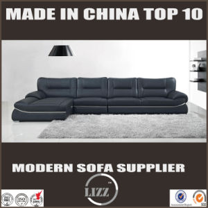2017 New Style Contemporary Sofa with Top Leather pictures & photos
