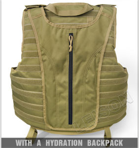 Nij Iiia Kevlar Ballistic Vest with Heavy Duty Nylon Webbing pictures & photos