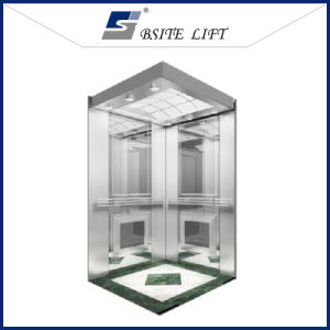 Commercial Elevator of Good Quality with Mirror Etched Hairline pictures & photos