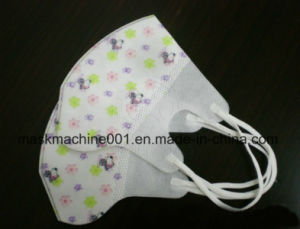 Ultrasonic Automatic Fold Mask Body Machine of Outside Nose Clip pictures & photos