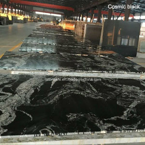 Cosmic Black Cosmos Black Granite for Tiles and Slabs pictures & photos