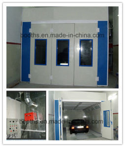 High Efficiency Used Car Spray Booth with Air Nozzles pictures & photos