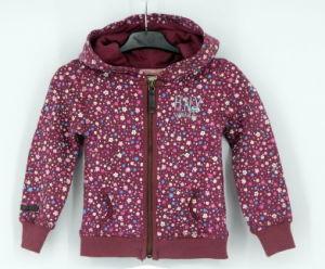 Ss17 Girls Top Fleece Zip Through All Over Print Sweatshirt Hoodies Top Clothes pictures & photos