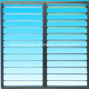 Clear Furniture Tempered Glass /Clear Tempered/Toughened Louver Glass pictures & photos