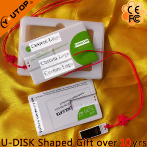Hot Sliding Credit Card USB Flash Drive as Fair Gifts (YT-3109) pictures & photos