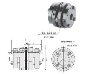 Ts3z Stainless Steel Material Mini Disc Coupling pictures & photos