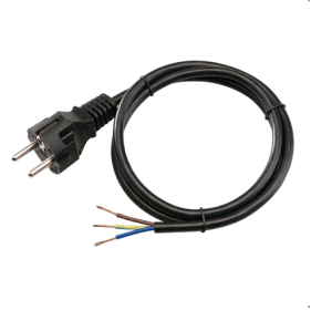 220V Home Appliance3 Pin European Standard AC Power Cord pictures & photos