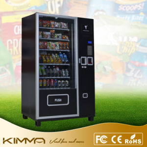 Cold Drinks Bottled Beverage Vending Machine with Advertisement Display Screen pictures & photos