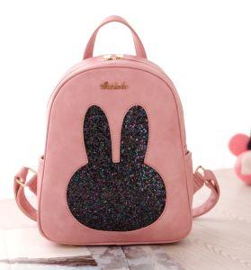 Pink Factory Price Cartoon Girls Rabbit Handbags Backpacks pictures & photos