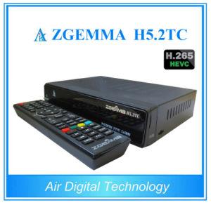 Hevc H. 265 Zgemma H5.2tc Combo DVB-S2+ 2*DVB-T2/C Free to Air Satellite TV Receiver pictures & photos