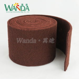 Industial Use Abrasive Nylon Scouring Pad Roll pictures & photos