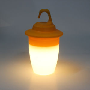 portable 3AA Batteries Operated Plastic Bright Luminary Lighting LED Home Decorative LED Lantern pictures & photos