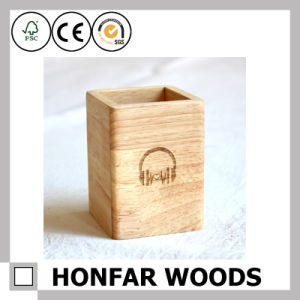 Office Supply Modern Wooden Pen Pot Pen Holder Wooden Craft pictures & photos