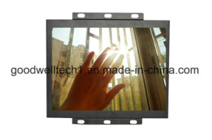 "15"" 4: 3 LCD Metal Frame Touch Monitor with S-Video Input (P150-3AT) pictures & photos"