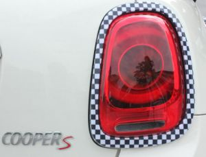 Red Color Head&Rear Lamp Rims Covers Mini Cooper F56 (4 PCS/set) pictures & photos