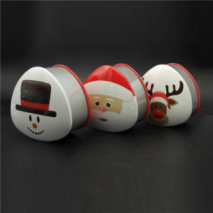 Colorful Printing Metal Candy Christmas Packing Tin (T001-V20) pictures & photos