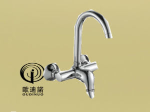 Oudinuo Single Handle Brass Bathtub Faucet 67913-1 pictures & photos