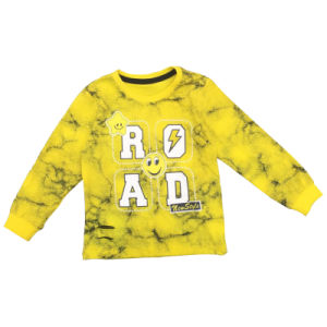 Fashion Clothes Printed Boy T Shirt for Winter pictures & photos