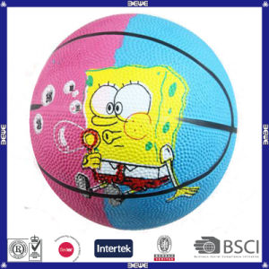 Lowest Price Good Quality Rubber Basketball for Promotion pictures & photos