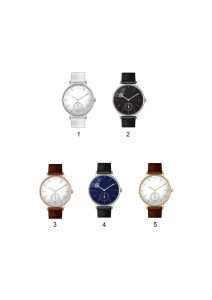 Waterproof Resistant Stainless Steel Back Japan Movt Quartz Watch pictures & photos