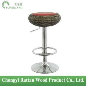 PE Rattan Bar Chair Counter Stool PS-12 pictures & photos