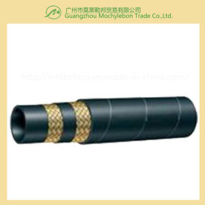 Steel Wire Braided Reinforced Rubber Covered Hydraulic Hose (SAE100 R2-5/16) pictures & photos