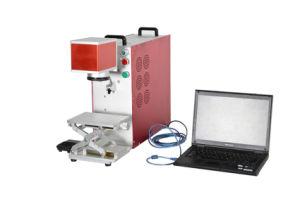 Max Portable Mini Fiber Laser 30W Marking Machine for Metal pictures & photos