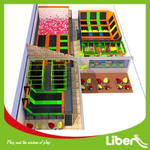 Indoor Kids Trampoline with Indoor Playground pictures & photos