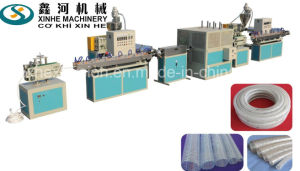 PVC Fiber Reinforced Pipe Extrusion Line Garden Hose Production Line/6-16mm Pipe Extruder