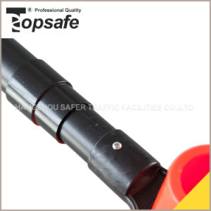 Red/White Color Double Side Extendable Cone Bar/Traffic Cone Bar (S-1482C) pictures & photos