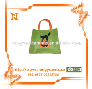 Green Shopping Bags with Awesome Pattern Design pictures & photos